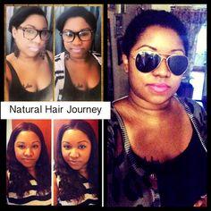 Natural hair.