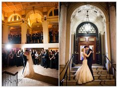 Providence Public Library Wedding, Reception, First Dance, © Snap Weddings