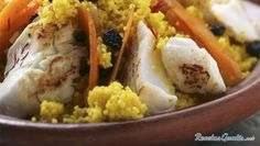 Cuscús Tunecino con pescado