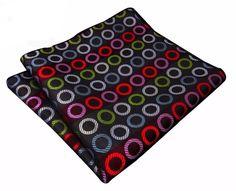Mod Circles Pattern - Pocket Square