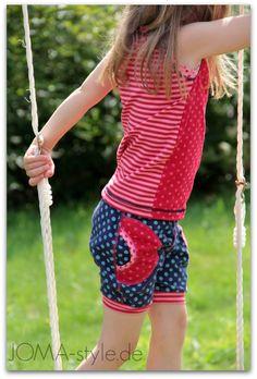 Sommertop und Marina-Shorts