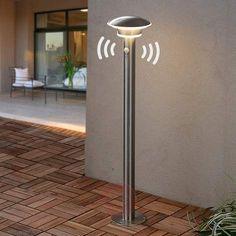 Veilys Lillien med LEDs og personsensor.-Gatebelysning LED-9988022-22