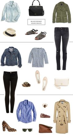 Closet Staples 3 Ways: Black Skinny Jeans |