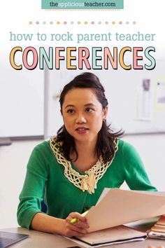 How to Rock Parent-Teacher Conferences!