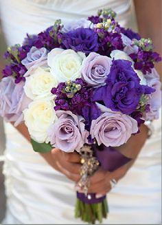 Flowers by Jodi purple boquet