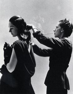 """""""You don't have to be born beautiful to be wildly attractive."""" Diana Vreerland - One of the most influential fashion icons in the world and one of my favorite people from NY."""