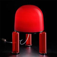 Ettore Sottsass, Pavillon lamp for Venini.