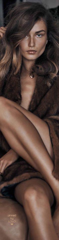 Andreea Diaconu – Vogue Magazine China November 2015   LOLO❤︎