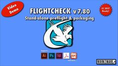 FlightCheck for CC 2017 - Stand-Alone Preflight and Package Application for Adobe Illustrator Photoshop InDesign Acrobat and even QuarkXPress EPS JPGs and more print file types.  FlightCheck v7.80 press release: http://ift.tt/2fZ7mRC  Try a FlightCheck free demo download no License code required: http://ift.tt/1j9gZLQ  FlightCheck your Prepress Workhorse to check print files for problems before you are printing them and wasting ink paper supplies and graphic design time. FlightCheck for CC…