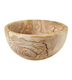 Natural Teak Bowl - The Conran Shop UK
