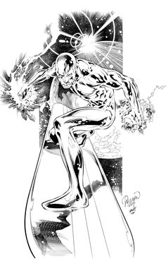 SILVER SURFER by knockmesilly on deviantART