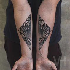 Tiger Tattoo by V. Hirsch