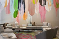 crown metropol - Ground Floor Lobby- commissioned artwork