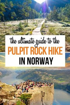 Norway Travel Guide, Europe Travel Guide, Travel Guides, Backpacking Europe, Travel Info, Places In Europe, Europe Destinations, Places To Travel, Pulpit Rock Norway