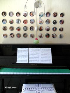 DIY Fotogalerie Klavier Photogallery Piano