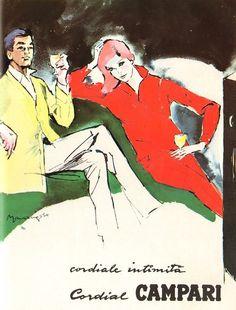 Aperitivo Campari, circa 1950