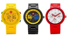 They're Making LEGO Watches For Grown-Ups!