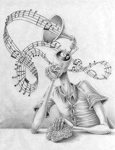 Este artista desenmascaró alasociedad moderna: sus obras son pesadas ehipnotizantes alavez Amazing Drawings, Amazing Art, Awesome, Brain Illustration, No Photoshop, Perfect Image, Meaningful Tattoos, Les Oeuvres, Art Projects