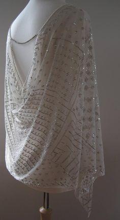 588a7ca98e17db Antique Assuit Top Shawl Cover-up Egyptian Revival Antique. Sydney Le Fever  · Basics   Novelty