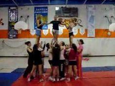 ▶ Cheerleading Stunt : Tick tock - YouTube