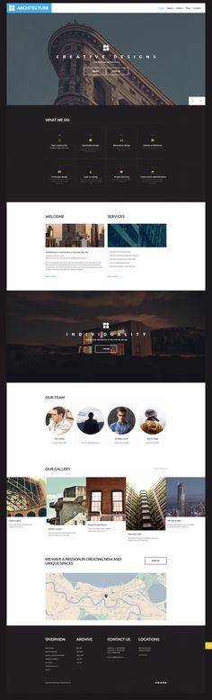 Architect WordPress Template http://www.templatemonster.com/wordpress-themes/architecture-wordpress-theme-58705.html