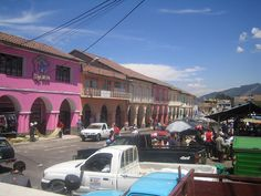 Outdoor market in Quito, Ecuador. #Travel #Ecuador