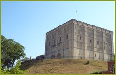 Norwich Castle was built by the Normans as a Royal Palace 900 years ago. Now a museum and art gallery, it is home to some of the most outstanding collections of fine art, archaeology and natural history. Norfolk, England Norman architecture.