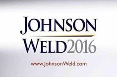 Libertarian Gary Johnson for President. 2016. Bill Weld Vice President. POTUS. VP.