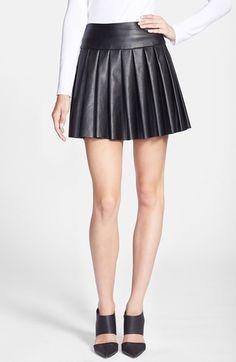 Ella Moss Faux Leather Skirt