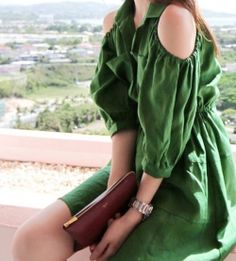J74319 Countryside Fashion Off Shoulder Dress [J74319] - $9.47 : China,Korean,Japan Fashion clothing wholesale and Dropship online-Be the most beautiful Lady