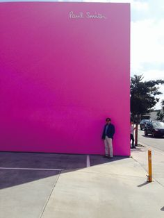 Joe Baker outside Paul Smith in West Hollywood, CA