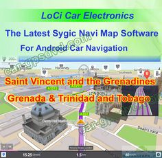 the Central America & Caribbean Trinidad and Tobago, Grenada, Saint Vincent and the Grenadines Sygic car navigation apk cracked maps