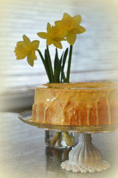 Mennonite Girls' Daffodil Cake