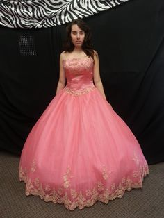Color: Pink/Gold Marys Bridal Brand name Dress​ ​Size 12 ​$350.00 Includes: 2 FREE GIFTS