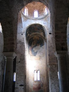 Agia Sofia interior Mystras, 2005