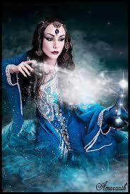 Beutiful female jinn