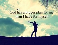 Trusting in God's plan for My life......