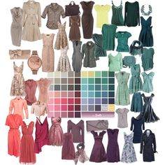"""Soft Summer Palette"" by nyrvelli on Polyvore"