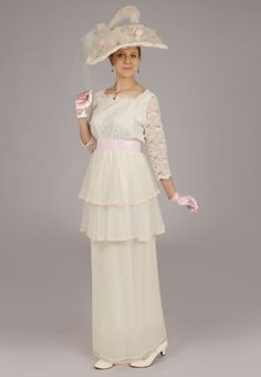Dominique Edwardian Gown By Recollections