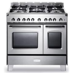 "Thumbnail Image of Verona Classic Series 36"" Gas Double Oven Range"