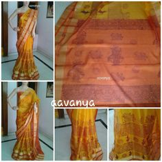 www.facebook.com/Aavanya Silk kotta with traditional kalmkari peacock synchronised vd classical dance  Sold out