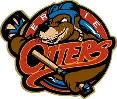 The Erie Otters are a major junior ice hockey team based in Erie, Pennsylvania. They are a member of the Ontario Hockey League, one of only three American teams in the circuit. Hockey Logos, Sports Team Logos, Hockey Teams, Sports Art, Hockey Goalie, Sports Teams, Canada Hockey, Team Mascots, Stickers
