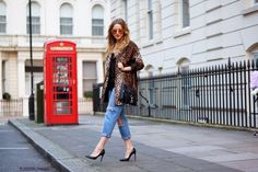 We featured Jessy and her fab leopard print coat #Fashiolista #Inspiration