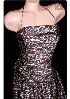 A personal favorite from my Etsy shop https://www.etsy.com/listing/492398431/betsey-johnson-brown-leopard-cheetah