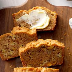 I got this apple quick bread recipe a long time ago and with a few changes it's become one of our favorites. Everyone who's ever tasted this apple bread has asked for the recipe! Quick Bread Recipes, Cake Recipes, Dessert Recipes, Bread Cake, Dessert Bread, Apple Desserts, Apple Recipes, Autumn Desserts, Whipped Cream Desserts