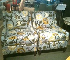 Color Trends From the Las Vegas Market by Jeanine Hays on @HGTV shown on Rowe's Tasker Chairs.