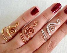 Wire Jewelry Rings, Copper Wire Jewelry, Copper Rings, Gold Rings, Gold Jewellery, Pearl Rings, Wire Earrings, Silver Jewelry, Drop Earrings