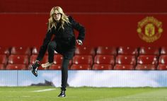 Julia Roberts all'Old Trafford per tifare Manchester United
