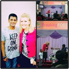 """Was so great to see Pastor Lyndie after such a long time this past Sunday was so good to have a little catch-up and my I was so blessed by the word she gave perfect timing. Always great having you in London Pastor Lyndie . Here are some of the notes from this blessed message on """"Purpose"""".. Pastor Lyndie McCauley live in LondonTown - """"No one can stop the plan of God in your life. The more the word of God you let In your life the more of a conqueror you will be.  Isaiah: 55 vs 9. Dont limit…"""