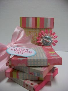Post it Note Box by creative momma - Cards and Paper Crafts at Splitcoaststampers